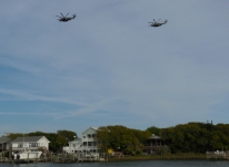 Military Buzz us - Topsail Anchorage