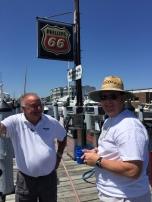 Larry at Harbor Walk Marina