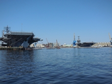 Aircraft Carriers Norfolk Naval Shipyard