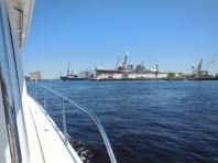 Ships at NNSY