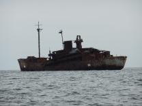 Liberty ship target