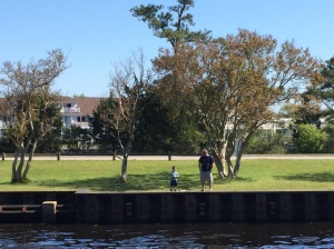 Boy Fishing - North Shore