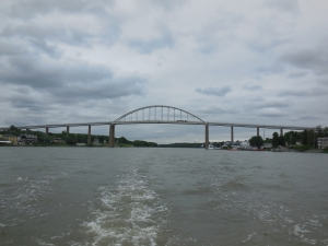 Leaving Chesapeake City Bridge