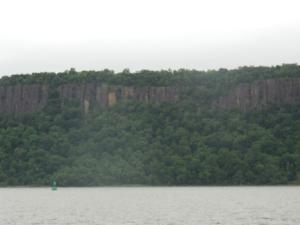 Western cliffs