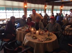 Looper Dinner with Lynn,  Jonathon, Alice & Cornell