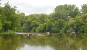 Debris in Dam
