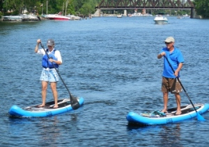 Paddleboarding in Brewerton