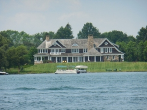 Home on Schaneatales Lake