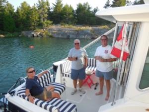 Bruce, Tim & Mark - Hamburger Cookout