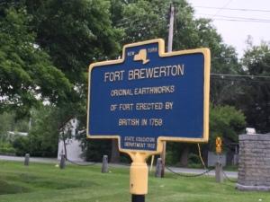 Fort Brewerton Plaque