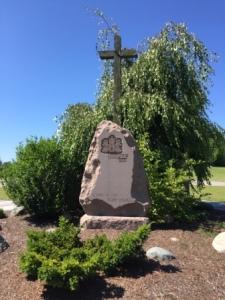 Commemorative Monument - JP II Visit