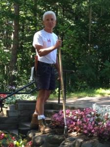 Steve Smith - Gardener - Martyr's Shrine