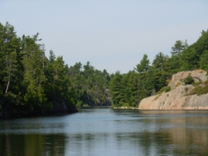 Collins Inlet narrows