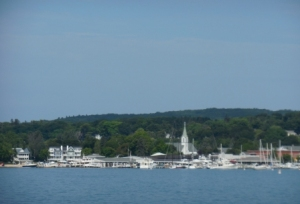 Entering Harbor Springs