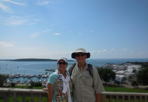 D&M at Fort Mackinac