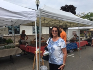Karen at Petoskey Farmers Market