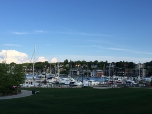 Charlevoix City Marina docks