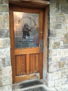 Entry Door - The Brown Bear