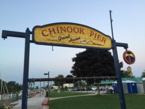 Chinook Pier at muni marina
