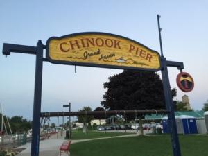 Chinook Pier at muni marina