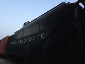 Pere Marquette Steam Engine