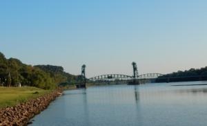 Bridge north of Mel's Riverdock