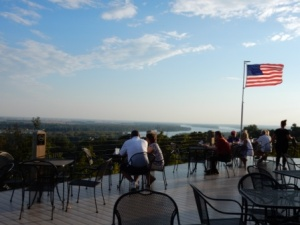Terrace at Aerie's Winery