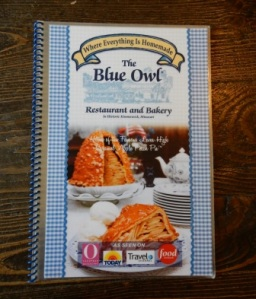 Blue Owl Menu