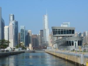 Entering Chicago Lock