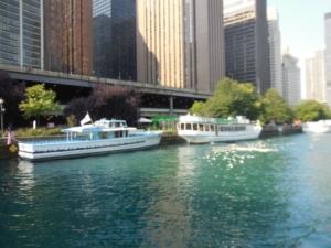 River tour boats