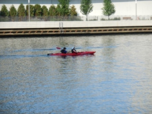 Kayaking Chicago River