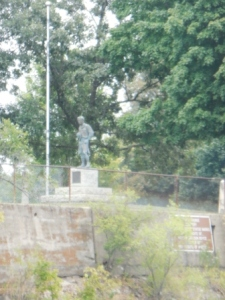 William D. Boyce statue - Founder BSA