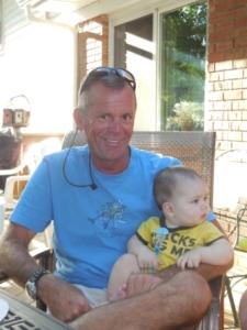 Cousin Rick with nephew Chris' boy Cooper