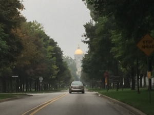 Entering ND Campus
