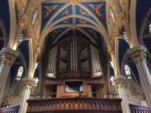 Organ in Basilica