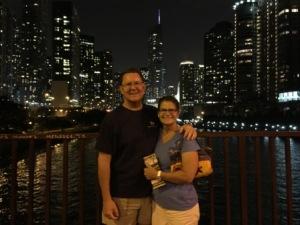Chicago River & Skyline