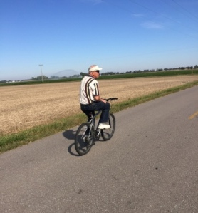Bike ride with Ray