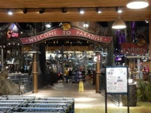 Bass Pro Store entrance