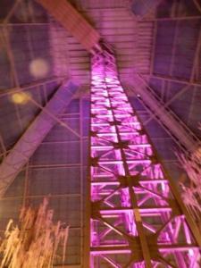 Elevator inside pyramid - Bass Pro