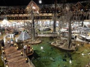 Inside Bass Pro Shop Pyramid
