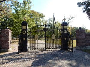 Cemetery Gates at Shiloh
