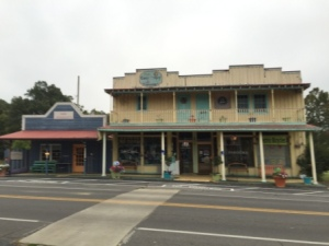 Shops in downtown