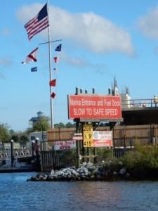 Fuel Dock at Wharf Marina