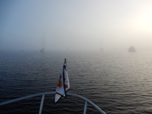 Foggy Anchorage