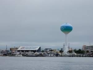 Water Tower & marina near Ft Walton