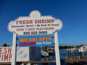 Shrimp Vendor at St Andrews