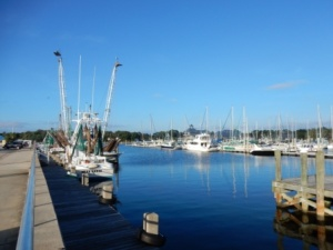 Commercial Fishing boat dock