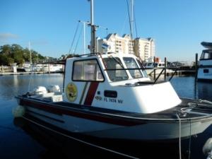 FSU Underwater Forensic Boat