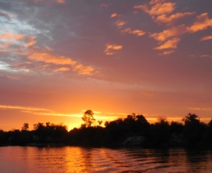 Sunrise over Demopolis