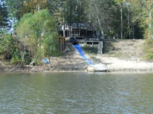Home made tube slide on BWTB